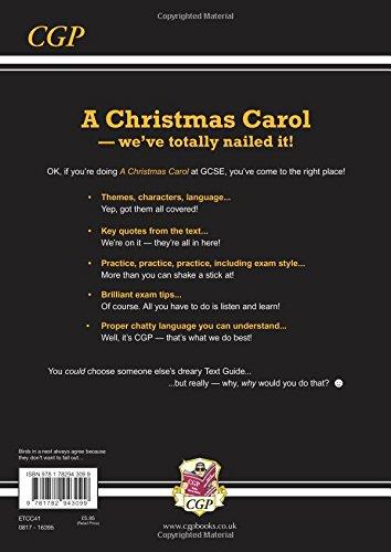 Christmas Carol Text Guide.Grade 9 1 Gcse English Text Guide A Christmas Carol Cgp