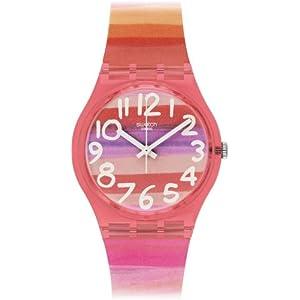 Swatch GP140 ASTILBE – Reloj Analógico de Cuarzo para Mujer con
