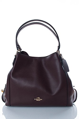 Coach Shoulder Bag Edie, Oxblood (Coach Tasche)