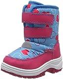 Playshoes Winter-Bootie mit Klettverschluss, Unisex-Kinder Schneestiefel, Türkis (Türkis 15), 28/29 EU (10.5 UK)