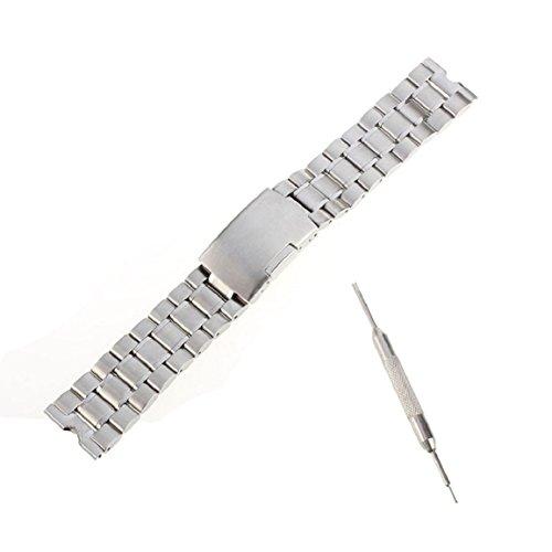Malloom® 22mm Sólido Acero Inoxidable Venda Reloj Pulsera Correa Repuesto para Motorola Moto 360 reloj Inteligente