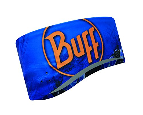 Buff 111632.752.20.00 Bande pour la tête Mixte Adulte, Bleu (Blue Ink), FR Fabricant : Taille Unique