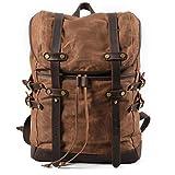LCM Herrenbausbeete, Casual Backpack, Male wasserproof Outdoor Travel Bag, Student Bag, Waterproof, Shock Absorption, Wear-resistent,B