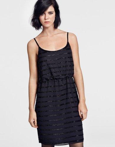 SELECTED FEMME Robe   Sans manche Femme Noir - Schwarz (Black)