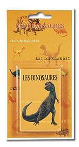 Cars - Juego de Cartas Dinosaurios, 2 o más Jugadores (versión en francés)