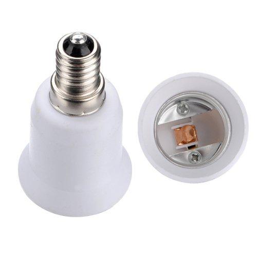 Preisvergleich Produktbild SODIAL(R)E14-E27 LED Licht Lampe Schraube Birne-Fassung Adapter Konverter