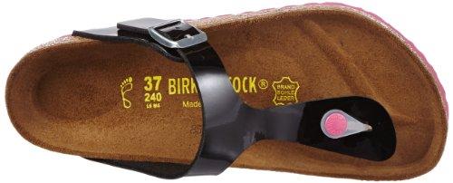 Birkenstock Gizeh Bk 5437, Tongs Noir (Black/Ls Pink)