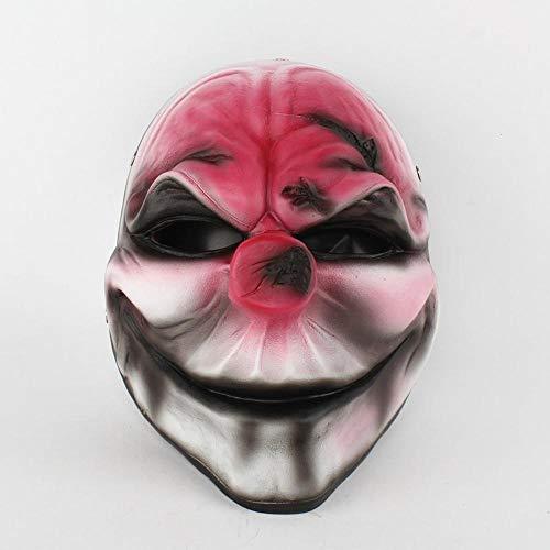 kerade Party Charakter verkleiden Sich Harz faulen Gesichtsmaske Halloween Maske cos roten Kopf ()
