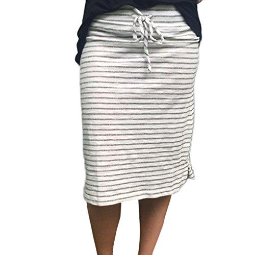 Damen Tutu Unterkleid Röcke , Streifen Petticoat Kleid 50er Rockabilly | Elastischer Kurzer Rock | Blickdicht Fluffiger Ballettrock | Unterröcke Brautkleid Tüllröcke | Fasching Kostüm (M, Grau) (Unterrock Bouffant)