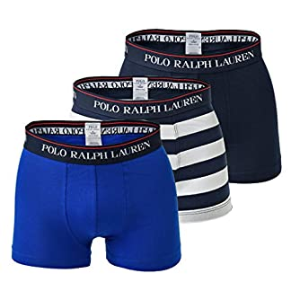 Polo Ralph Lauren Hombre Calzoncillos Paquete de 3 – Classic Trunks, Stretch Cotton