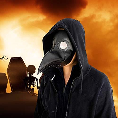 HughD667ou Halloween Plage doktor Maske krähe Lange Nase schnabel Maske Halloween Cosplay kostüm - Krähe Kostüm Maske