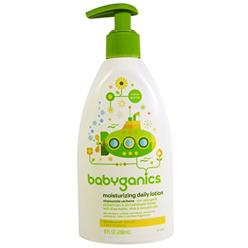 Feuchtigkeitsspendende Tagescreme, 9 Flüssigunzen (266 ml) - BabyGanics