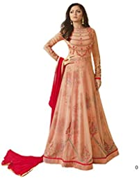 Yashraj Export Women's Bollywood Designer Party-wear Latest Collection Multi Coloured, Georgette And Art Silk...