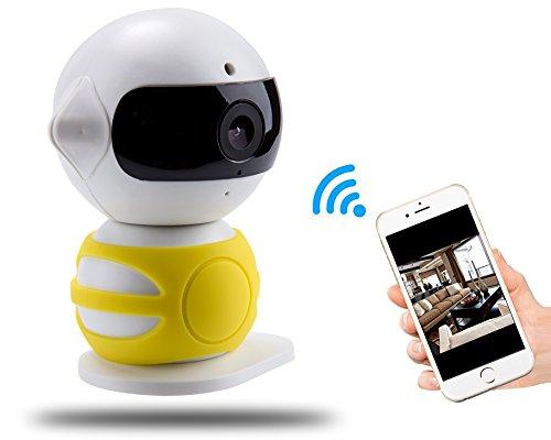 Angin-Tech 720P 360 IP-Kamera WiFi Drahtlose Überwachungskamera mit Neuen PIR-Technologie, Full-HD-Stecker / Wiedergabe Heim¨¹berwachungskamera , Pan / Tilt mit Zwei - Wege-Audio un