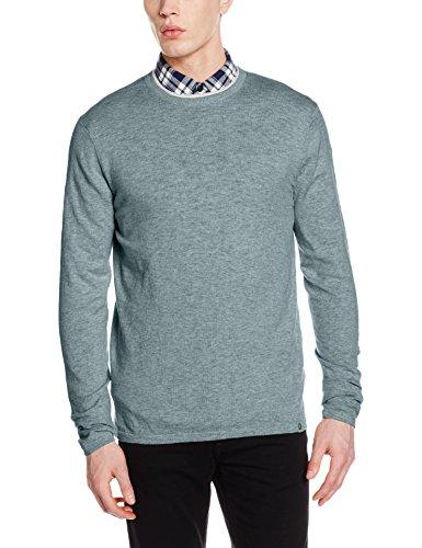 ESPRIT Herren 126EE2I030 Pullover,Per Pack Grün (Pastel Green 340),Large (Herstellergröße:L)