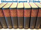 21. Bände: 20 Brockhaus Enzyklopädie u. 1. Band Karten. Siebzehnte / 17. völlig neubearbeitete Auflage des großen Brockhaus, Band 1 A - ATE / 2 ATF - BLIS / 3 - BLIT - CHOC / 4 CHOD - DOL / 5 DOM - EZ / 6 F - GEB / 7 GEC - GZ / 8 H - IK / 9 IL - KAS / - 10 KAT - KZ / 11 L - MAH / 12 MAI - MOS / 13 MOT - OSS / 14 OST - POQ / 15 POR - RIS / 16 RIT - SCHO / 17 SCHR - STAL / 18 STAM - TRIE / 19 TRIF - WAL / 20 WAM - ZZ / 21 KARTEN