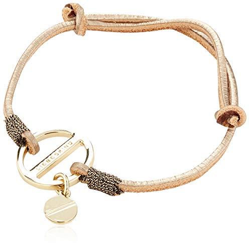 Liebeskind Berlin Damen Essential Bracelets With Medal Taschenorganizer, 1x15x1 cm (B x H x T), Gold (Moonlight)