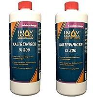 Inox IX 300Motor de kaltrein Papelera, 2x 1l–Limpiador concentrado contra Aceites, Grasas de alquitrán y