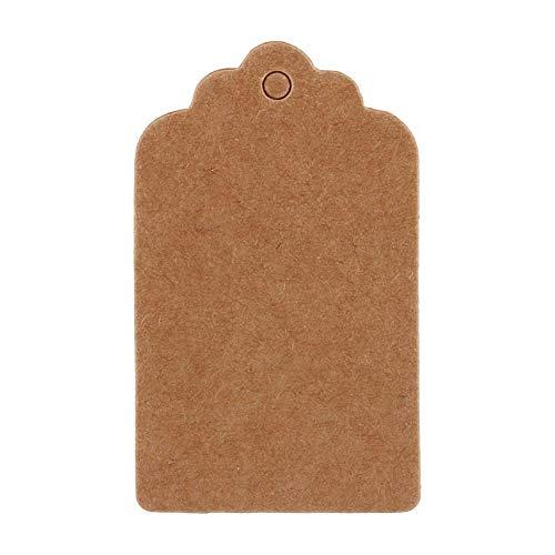 Descripción del Artículo: 100x Kraft Paper Wedding Party Favor tarjeta de regalo etiqueta de festón etiquetas de equipaje en blanco Presupuesto: 100% nuevo Color marrón Tamaño: 5cmx3cm  caracteristicas: 100 Kraft Marrón / Blanco / Negro Vintage Favor...