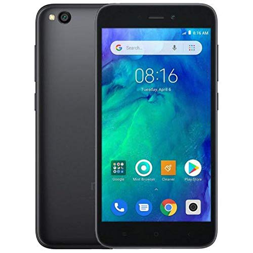 Xiaomi Redmi Go 8GB Mobile ، أسود ، Android 8.1 (Oreo) Go Edition