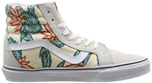Vans - U Sk8-Hi Reissue Vintage Aloha, Sneakers unisex Avorio (Vintage Aloha/Classic White/True White)
