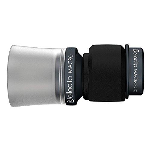 olloclip 010600 Kameraobjektiv - 3-IN-1 - Macro 7x, 14x, 21x - Apple iPhone 5/5S/5SE - Schwarze Linse/Schwarzer Clip (Kamera 5s Linse Iphone)