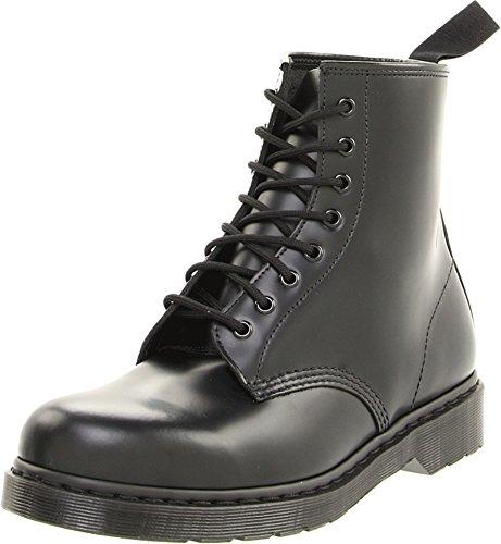 O Smooth BLACK, Unisex-Erwachsene Combat Boots, Schwarz (Black), 46 EU (11 Erwachsene UK) ()