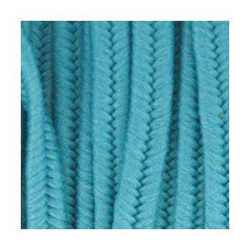 I-Beads Netz-Schweißhacke, Polyester, 3 x 1,5 mm, 2 m, Entenblau