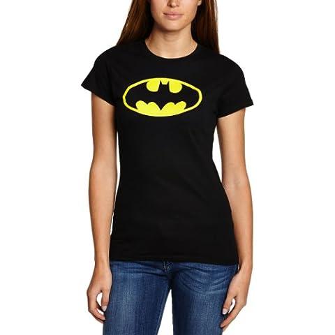 Collectors Mine - Camiseta de Batman con cuello redondo de manga corta para mujer