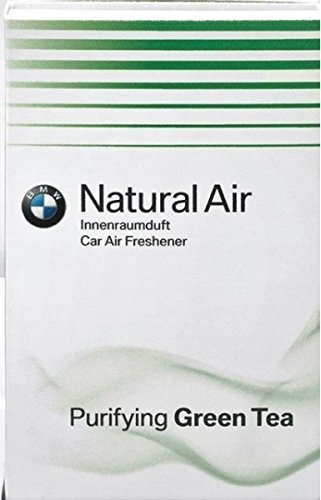 BMW Original Ambientador de coche de aire natural té verde Recambio Kit (83122285674)