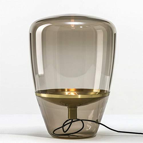 Lámpara escritorio arte moderno pantalla vidrio hecho