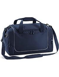 Quadra Teamwear Schlißfachtasche Marineblay / grau