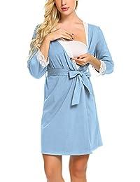 Amazon.es: pijamas premama - Mujer: Ropa