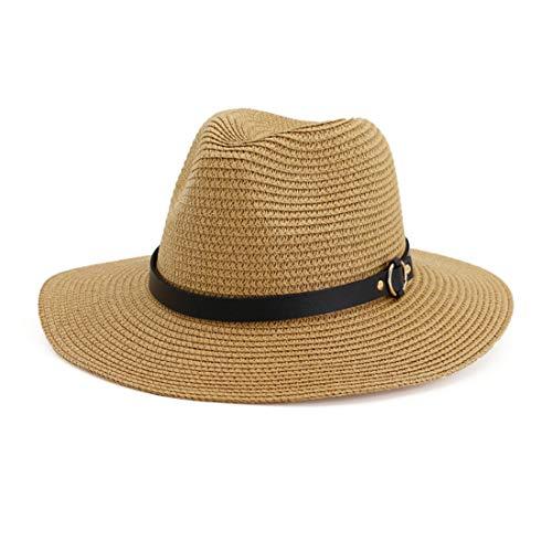 Stroh Bauer Hats - Charmylo Ripsband Strohhut Herren Atmungsaktiv Bauer
