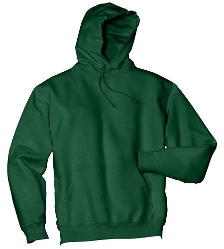 Wei§er Fu§ball auf American Apparel Fine Jersey Shirt Waldgrün