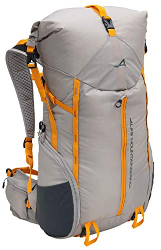 ALPS Mountaineering Tour Day Backpack 35-45L, Gray/Apricot
