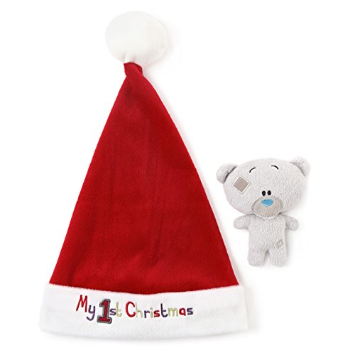 tiny-tatty-teddy-me-to-you-my-1st-christmas-santa-hat-und-weiche-spielzeug-baby-rassel