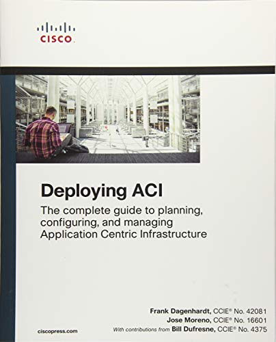 Deploying ACI: The complete guide to planning, configuring, and managing Application Centric Infrastructure por Frank Dagenhardt