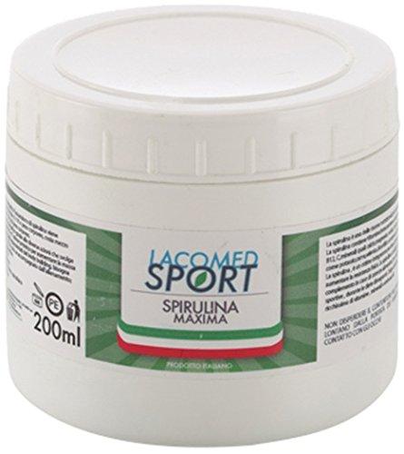 Lacomed Sport Spirulina Maxima Integratore, Bianco - Essential Oligoelementi