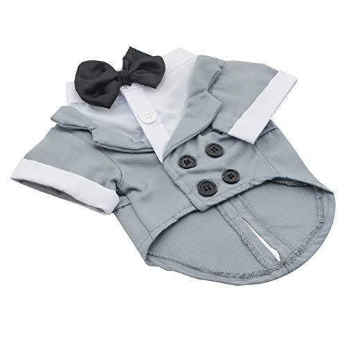 Asian Kostüm Girl - Syfinee Pet Dog Costume Suit Clothes Apparel Tuxedo Breathable Fashion for Wedding Party