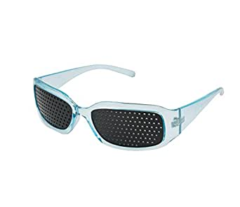 Smallwise Trading Special Designed Pinhole Glasses --- Help To Improve Your Eyesight brand 4sold brand 4sold (blue)