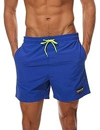 MODCHOK Hombre Bañadores de Natación Pantalones Cortos Baño Bóxers ...
