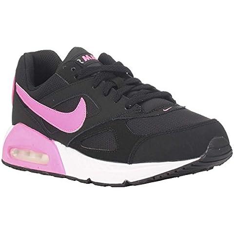 Nike Air Max Ivo (Gs) Calzatura, Bambina, Nero/Rosa/Bianco,