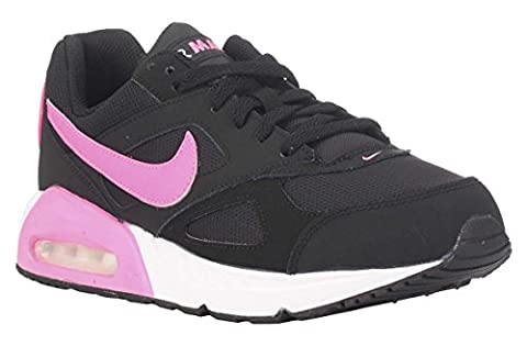 Nike Mädchen Air Max Ivo (GS) Laufschuhe, Schwarz / Rosa / Weiß, 36 EU