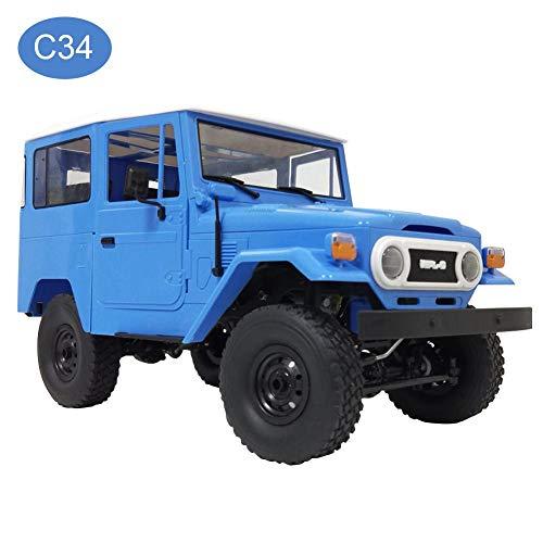Ferngesteuertes Auto, High Speed Spielzeugauto RC Geländewagen RC Auto Spielzeugauto Cartoon Form WPL C34 Kriecher Auto Spielzeug für Kinder