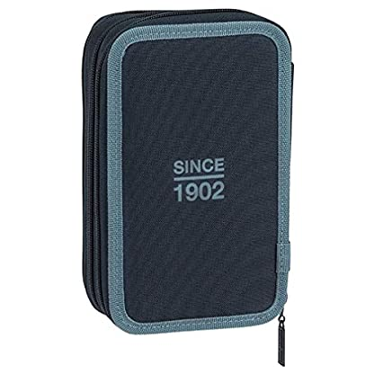 41zOh2IphdL. SS416  - Safta Estuche Real Madrid, Color Azul, 21 cm (411834057)