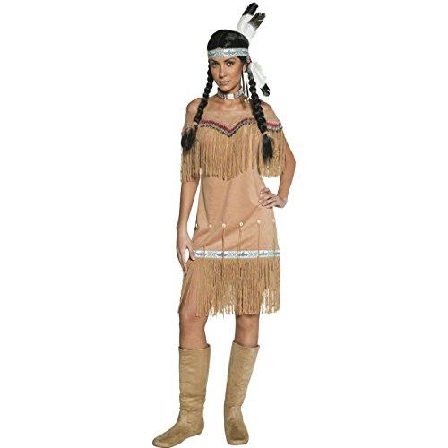 Imagen de traje de india o pocahontas disfraz aborigen mujer oeste
