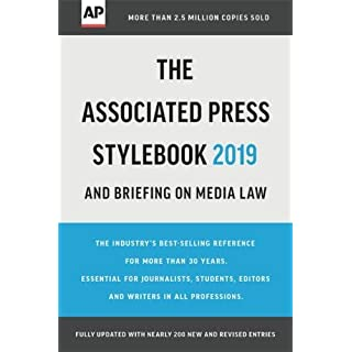 The Associated Press Stylebook 2019: and Briefing on Media Law (Associated Press Stylebook and Briefing on Media Law)