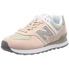 New Balance Damen 574v2 Sneaker, Grau (Grey/Pink Grey/Pink), 36.5 EU