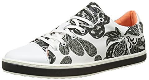 Chaussures Desigual - Desigual Supper Happy Xupi, Sneakers Basses Femme,